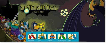 Nueva Pantalla principal de la Fiesta Medieval