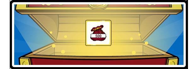 Códigos reutilizables- 500 monedas: